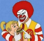 Скандал вокруг клоуна Рональда