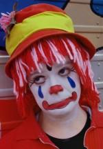 Грим клоуна4