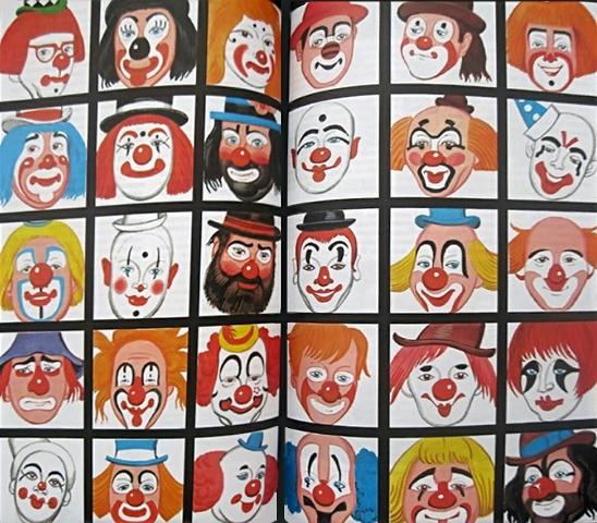 Сделать своими руками клоуна фото