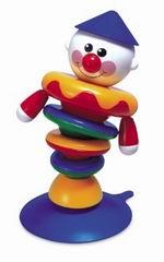 Клоун на присоске
