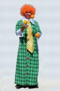 Необычный костюм клоуна