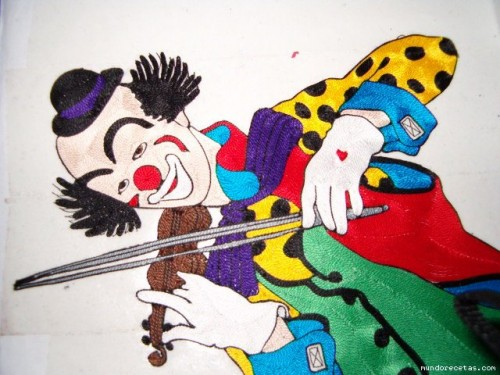 Готовый клоун (верхняя часть)