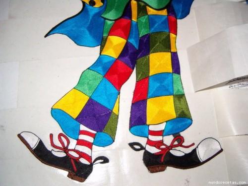 Итоговый клоун (нижняя часть)